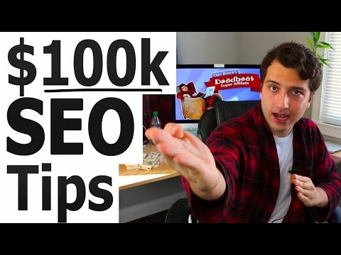 Search Engine Optimization Tips ($100k In Affiliate Commissions)