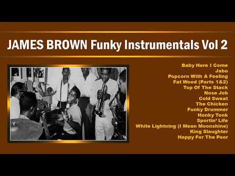 JAMES BROWN Funky Instrumentals Volume 2