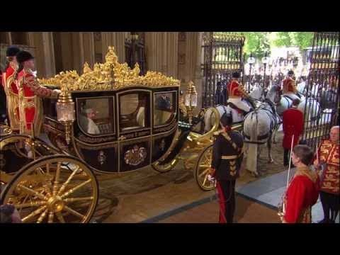 The Queen Opens British Parliament Pageantry 2015