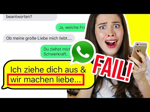 WHATSAPP PRANK an EX-FREUND ESKALIERT! 😂 SONGTEXT FAIL!
