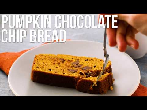 How to Make Chocolate Chip Pumpkin Bread | EatingWell