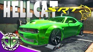 Car Mechanic Simulator 2018 : Dodge Challenger HellCat SRT : CAR MECHANIC SIMULATOR 2018 GAMEPLAY