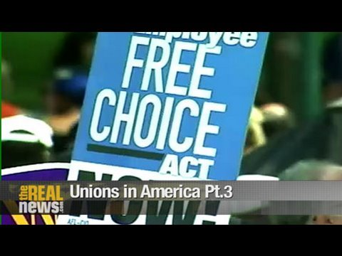 The struggle for the Employee Free Choice Act