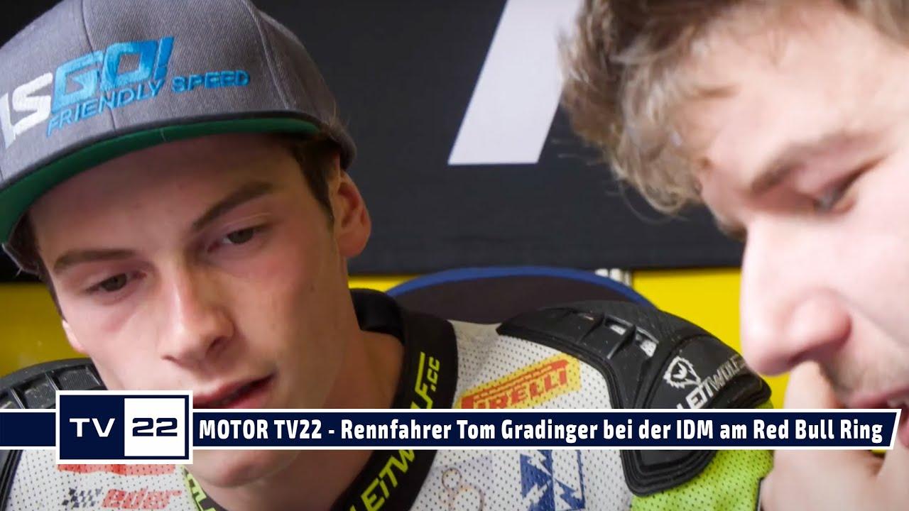 MOTOR TV22: Motorrad Rennfahrer Thomas Gradinger beim Heimrennen auf dem Red Bull Ring