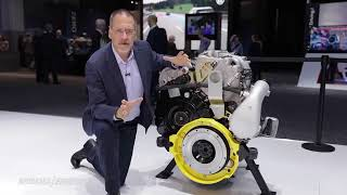 Saudi ARAMCO shares in the invitation of an Opposed-Piston Engine which is 60% more fuel efficient