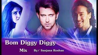 Bom Diggy Diggy - VM | Hrithik Roshan | Tiger Shroff | Vaani Kapoor | Zack Knight, Jasmin Walia