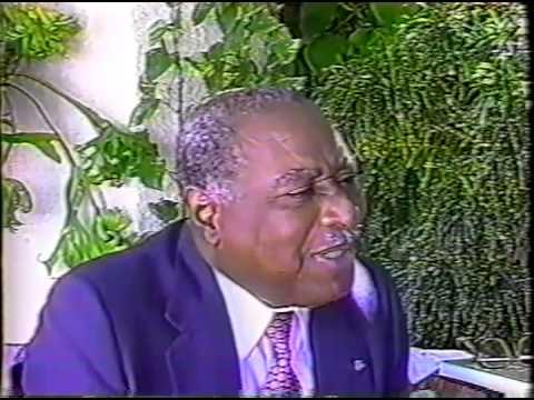 Leslie Manigat Télé 13 Entretien La Crise Haïtienne Contemporaine Juillet 1996