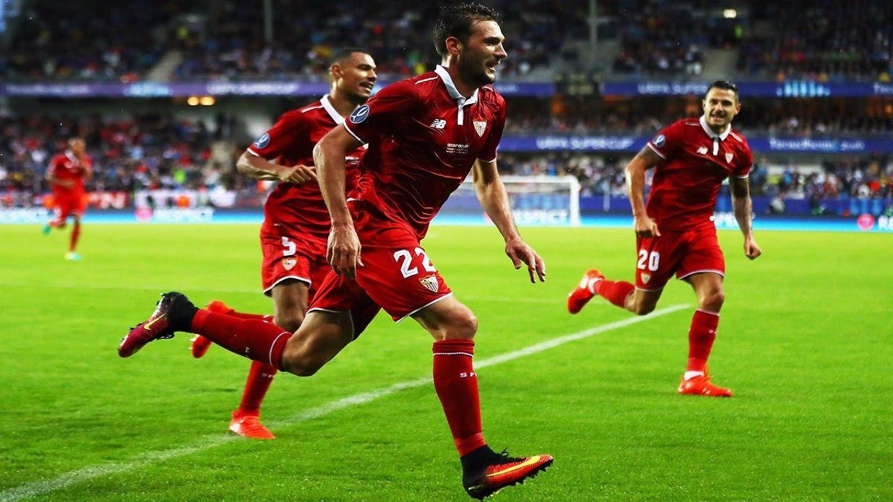 Футбол реал мадрид севилья 12 августа видео голов