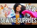 HAUL |  NEW Sewing + Fashion Design Supplies