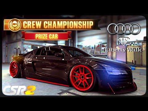 CSR Racing 2 - Audi LB R8 delivery  - Milestone prize