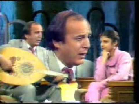أصالة تسجيل نادرمع والدها 1984