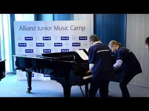 Chasing Brahms!   Lang Lang Allianz Junior Music Camp 2016