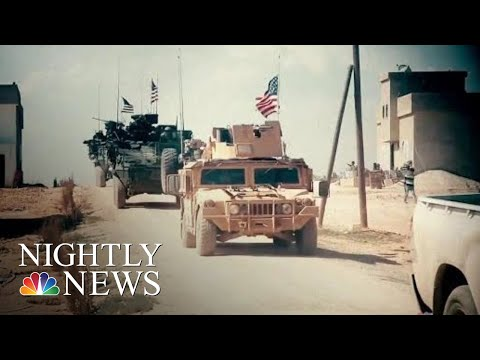 New Confusion Over Donald Trump's Plan To Abruptly Withdraw US Forces From Syria | NBC Nightly News