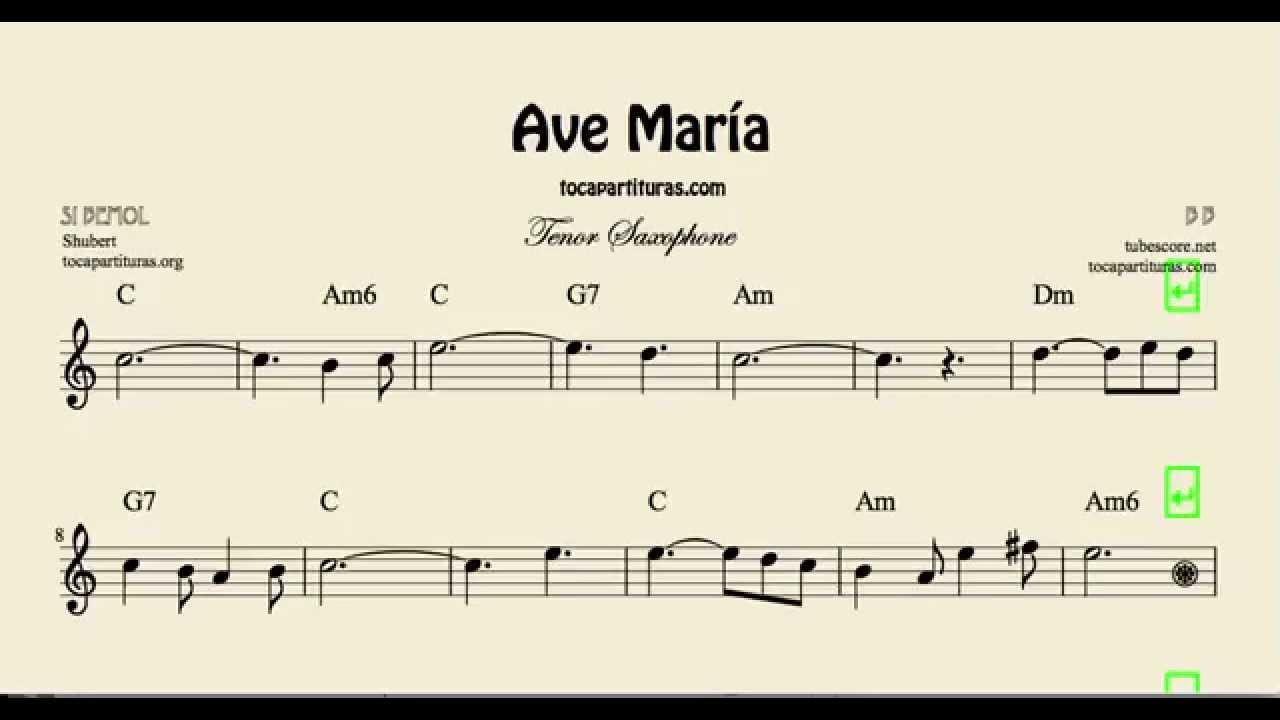 Ave maria chords guitar