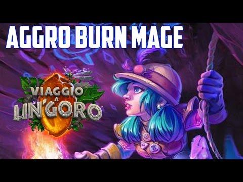Hearthstone ITA: Aggro Burn Mage [Un'Goro]