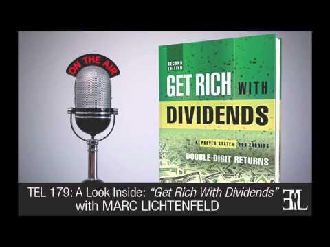 Get Rich With Dividends by Marc Lichtenfeld TEL 179