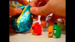 ANGRY BIRDS Яйца С Сюрпризом Киндер сюрприз EPIC SURPRISE EGG! Kinder Surprise Egg Chupa Chups!