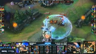 1-28-15 IEM S9 LEAGUE OF LEGENDS 英雄聯盟 LOL Taipei Assassins TPA vs. AV BO2