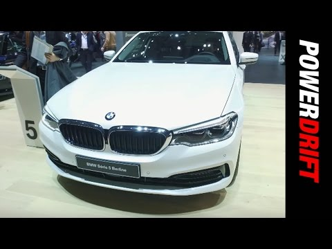2017 BMW 5 Series : Geneva Motor Show : PowerDrift