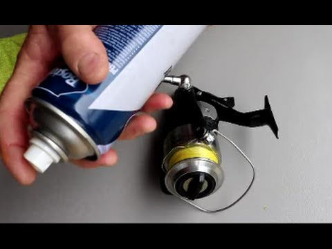How To Service, Clean your Spinning Reel   The Hook and The Cook