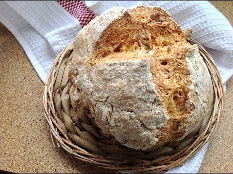 Хлеб на йогурте или пахте без дрожжей