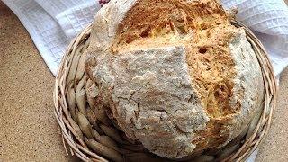 Хлеб на йогурте или пахте (без дрожжей) / Ирландский содовый хлеб