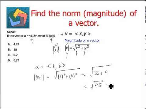 How to Find the Magnitude of a Vector: 7 Steps (with Pictures) |Magnitude Two Vectors Formula