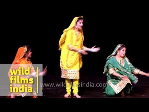 Dogri dance performance from Jammu, India
