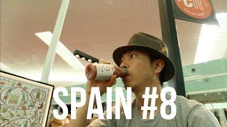 スペイン・バルセロナの旅 #8 (終) / パン屋 → 地下鉄とエアロバスで空港へ / Barcelona Spain Travel #8 Last