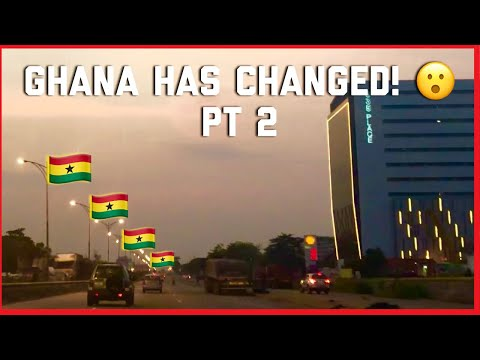 GHANA HAS CHANGED PT2 ! || NIGHT RIDE THROUGH ACCRA || GHANAIAN YOUTUBER