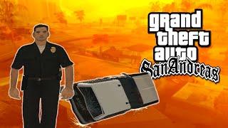 Momentos Engraçados: GTA San Andreas (Bugs Policiais, Mortes & Muito mais!)