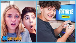 FaZe Jarvis Plays Fortnite on Omegle (Caught)