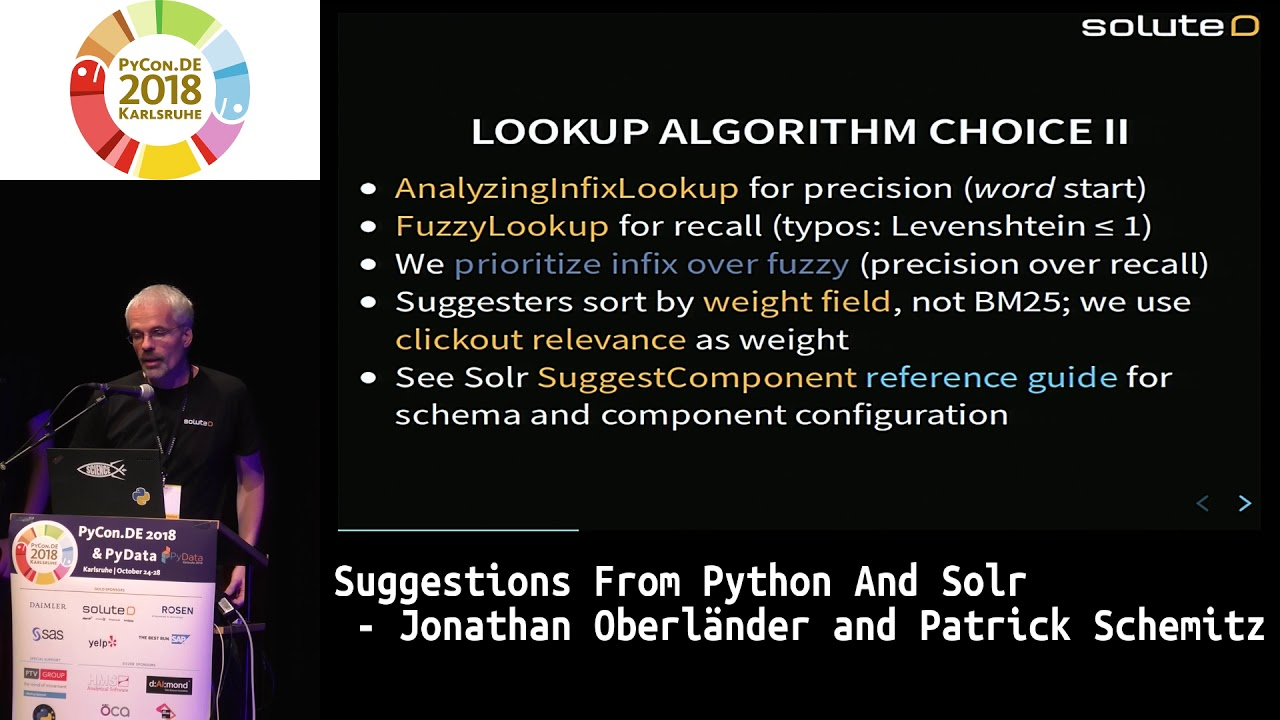Image from Suggestions from Python and Solr