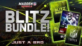 BLITZ BUNDLE OPENING! - Madden Mobile 16