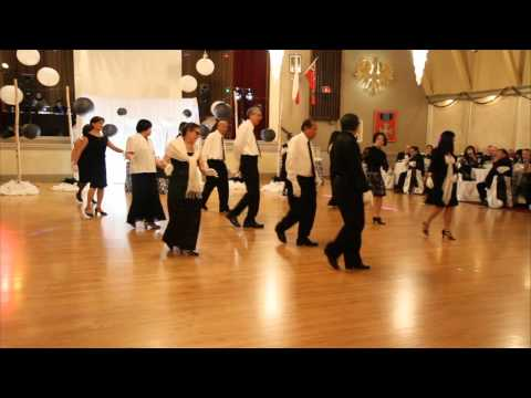 A Donde Voy Line Dance Performance by Monday Night Dancers of Niagara