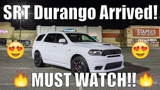 DELIVERY DAY! | 2018 Dodge Durango SRT 392! | 700+HP Supercharging!? Faster Than Trackhawk?