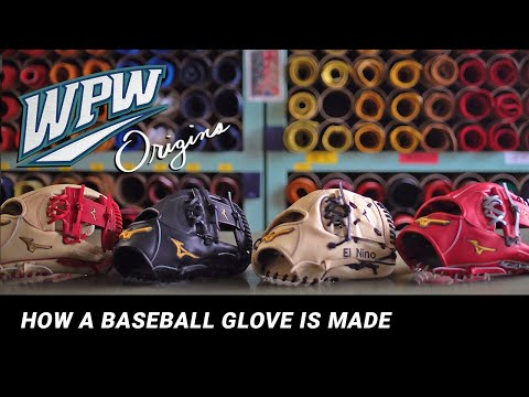 Origins: How A Baseball Glove Is Made At The Mizuno Pro Glove Factory