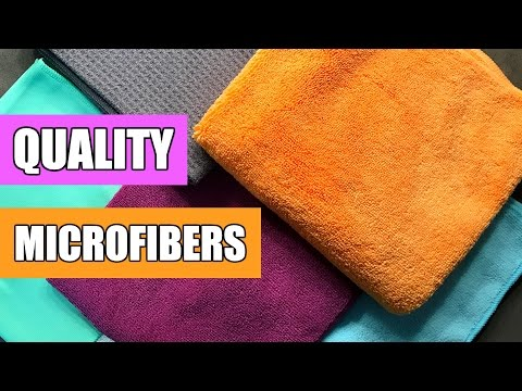 Quality Microfiber Cleaning Cloths (Maker's Cleaning Cloths REVIEW) !!