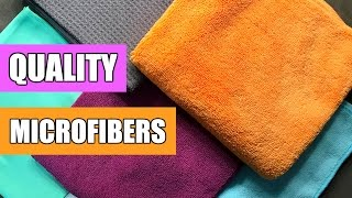 Quality Microfiber Cleaning Cloths (Maker