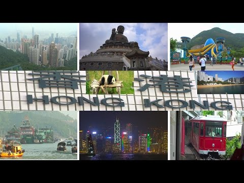 Hong Kong - Travel Video 2016 4K