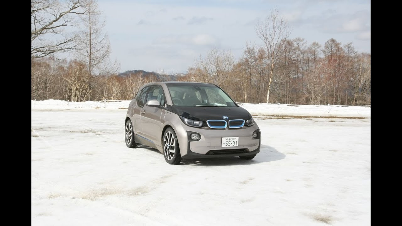 Image result for BMW i3 in the snow
