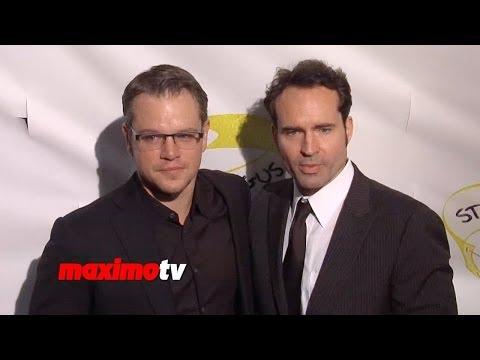 """Jason Patric, Matt Damon, Mel Gibson, Kiefer Sutherland """"Stand Up For Gus"""" Red Carpet"""