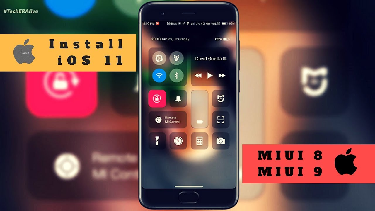 Theme For Xiaomi Redmi Note 4 For Android: Install IOS 11 Themes On Xiaomi Device