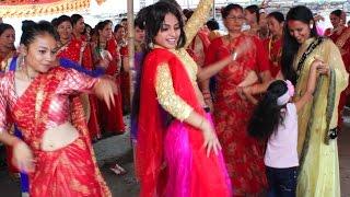 Beautiful Teej Dance Organized by Shrijanatmak Sahabhagi Samaj
