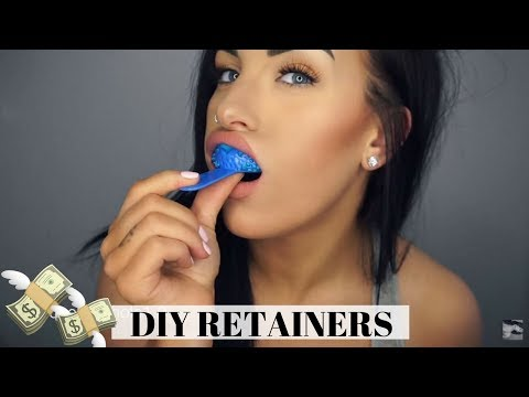 DIY RETAINERS!! MAKE THEM AT HOME & SAVE MONEY (Just Retainers)   Chels Nichole