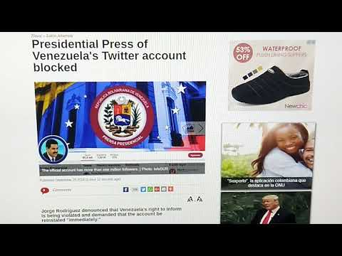 9/25/18~US MILITARY TESTING VENEZUELAN COMMS KNOCKOUT DEVICE