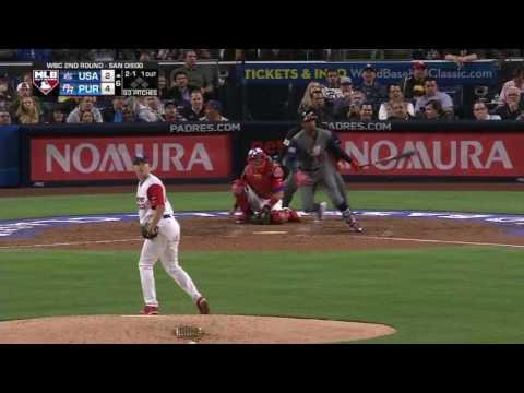 Puerto Rico vs United States | 6 - 5 | Highlights - Resumen | World Baseball Classic 2017