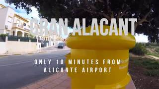This is Gran Alacant 2018 in Costa Blanca, Spain