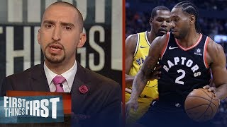 Nick Wright on KD - Kawhi potentially teaming up to join the Clippers | NBA | FIRST THINGS FIRST