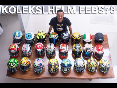 Naaahhhh...finally febs78 cerita koleksi helm2nya...